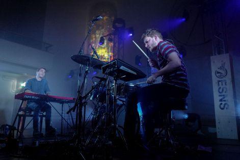Glass Museum live auf dem Eurosonic Norderslaag Festival