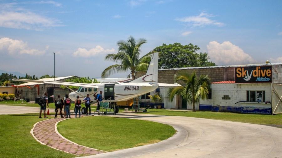 Skydive Mexico.