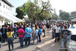 Studenten van Paramaribo