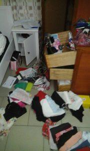 Rovers heben haar kamer overhoop gehaald