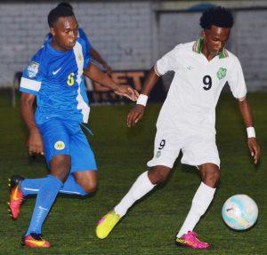 Suriname vs. Curacao 4 15 febr 2017