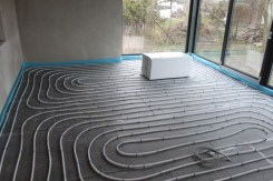 Fußbodenheizung Wohnzimmer