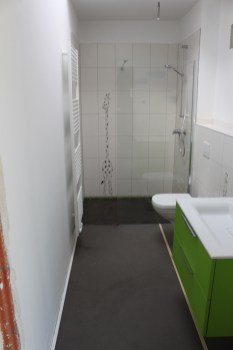 Fußboden Kinderbad - fertig