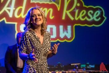 Die charmante Lisa Feller brachte alle zum Lachen. (Foto: th)
