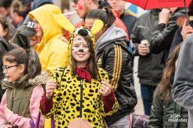 Keine Anzeichen für getrübte Karnevalsstimmung. (Foto: Carsten Pöhler)