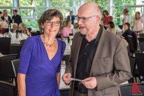 Michael Bührke moderierte die Jubiläumsfeier. (Foto: Thomas Hölscher)