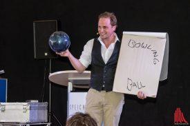 Comedy-Zauberer Christian Glade war lustiger als jeder Clown. (Foto: Thomas Hölscher)