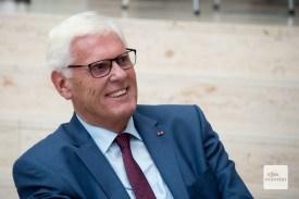 Münsters ehemaliger Regierungspräsident Dr. Peter Paziorek stellte den Kontakt zu Ost her (Foto: Bührke)