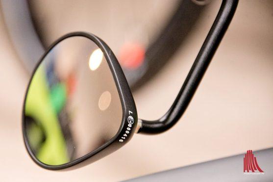 Der Rückspiegel ist beim S-Pedelec Pflicht. (Foto: Michael Bührke)