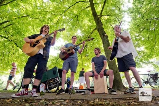 The Tributing Wilburys (Foto: Michael Bührke)