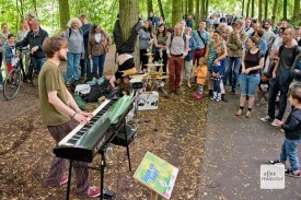 """Werden auch 2019 wieder dabei sein: Münsters Enfant Terrible der Unterhaltungsmusik: """"Kaum ein Vogel"""". (Foto: Michael Bührke)"""