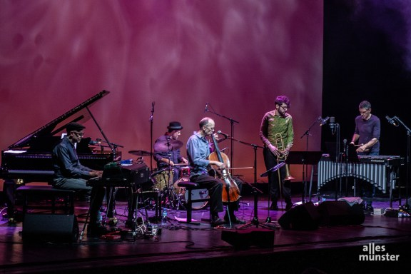 """Hank Roberts und seine Band """"Pipe dream"""". (Foto: Stephan Günther)"""