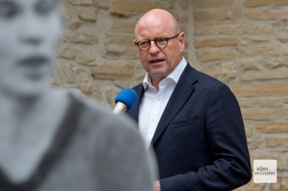 Oberbürgermeister Markus Lewe während seiner Rede.