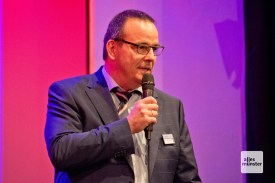 Dr. Otfried Debus ist Chefarzt der Klinik für Kinder- und Jugendmedizin des Clemenshospitals (Foto: Michael Bührke)