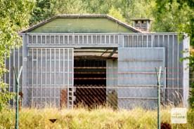 In diesem Bunkern lagerten bis 1991 Atomwaffen der britischen Armee.