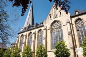St. Pantaleon in Roxel. Hier wurde Annette getauft und übernahm auch ersatzweise das Orgelspiel. (Foto: Michael Bührke)