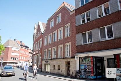 Hörsterstraße 54, das Wohnhaus von Levin Schücking. (Foto: Michael Bührke)