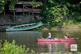 Die Werse ist bei Wassersportlern sehr beliebt. (Foto: Michael Bührke)