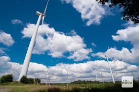 Windkraftanalagen prägen an vielen Orten des Münsterlandes das Landschaftsbild (Foto: Michael Bührke)