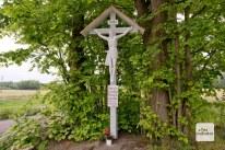 Auf der Tour nach Telgte sind ungewöhnliche viele und gut erhaltene Wegekreuze zu entdecken. (Foto: Michael Bührke)