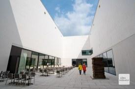 Im markanten Neubau des LWL-Museums für Kunst und Kultur werden die Wände über einen Wärmetauscher gekühlt und erwärmt, der seine Energie aus dem Grundwasser des Aegidiimarktes bezieht. (Foto: Michael Bührke)