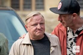 Axel Prahl im Gespräch mit dem Regisseur Sven Halfar.