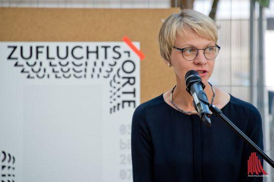 Die Regierungspräsidentin Dorothee Feller. (Foto: Michael Bührke)