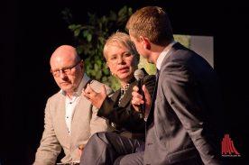 rauke Burgdorff führte als Moderatorin durch den Abend. (Foto: Michael Bührke)