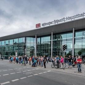 Der neue Hauptbahnhof ist eröffnet   24.06.2017, (Foto: wf / Weber)