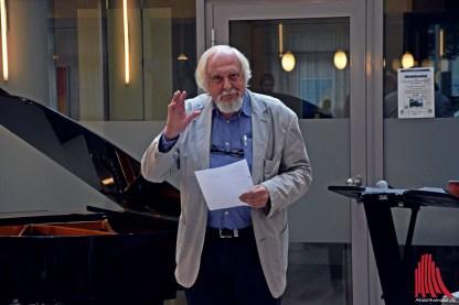 Künstler Hans Dieter Rieder. (Foto: so)