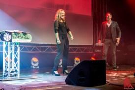 "Lisa Feller und Oliver Pauli vom Improvisationstheater ""Placebo"" (Foto: th)"