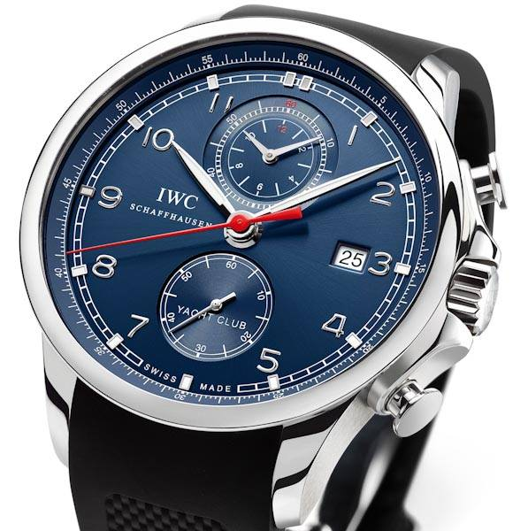 IWC Portugese Yacht Club Chronograph Laureus Sport For