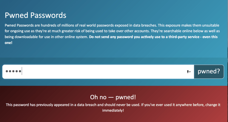 password pwned