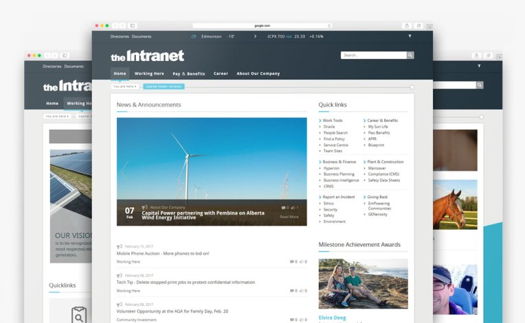 CapitalPower intranet