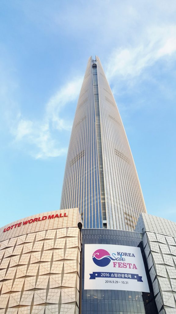 Lotte World Tower 576x1024 - TOP 10 HIGHEST BUILDINGS IN THE WORLD