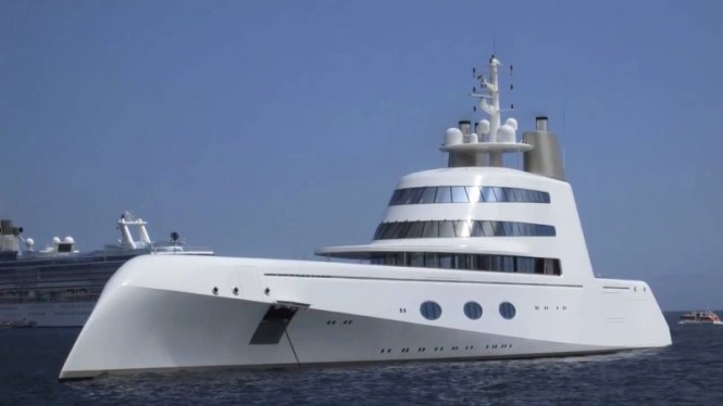 Superyacht A - TOP 10 MOST EXPENSIVE YACHTS IN THE WORLD