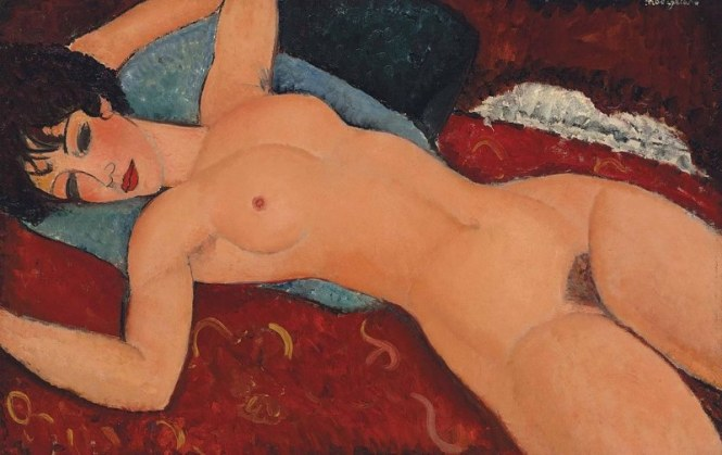 Nu couch%C3%A9 - TOP 10 MOST EXPENSIVE PAINTINGS EVER SOLD