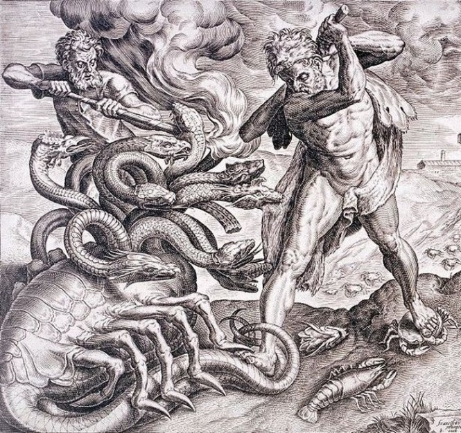 Hydra - TOP 10 MYTHICAL ANIMALS FROM HISTORY