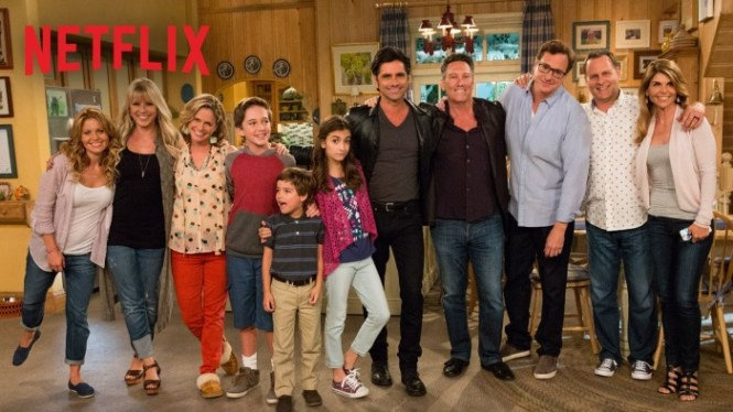 fuller house - TOP 100 BEST AND MOST POPULAR SERIES ON NETFLIX