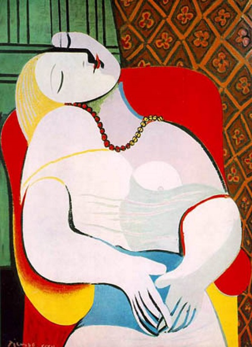 Le R%C3%AAve - TOP 10 MOST FAMOUS ICONIC PAINTINGS BY PABLO PICASSO