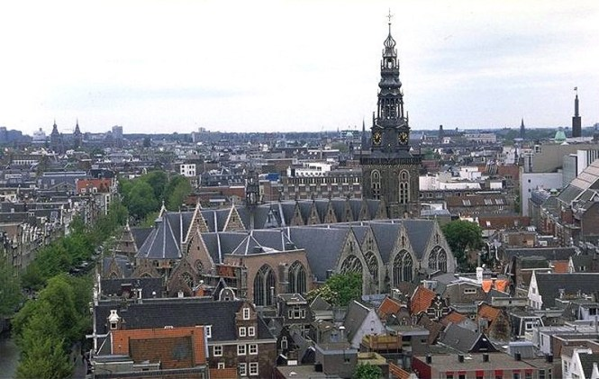 Oude Kerk - TOP 10 MOST FAMOUS DUTCH CHURCHES AND CATHEDRALS