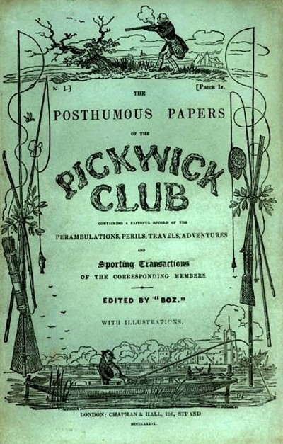 The Pickwick Papers - TOP 10 BEST WORKS BY CHARLES DICKENS