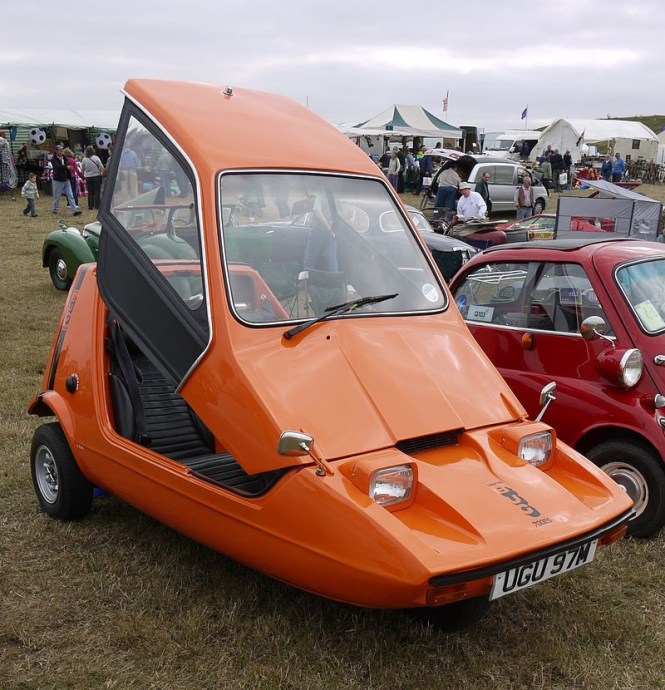 Bond Bug - TOP 10 STRANGEST CARS EVER CREATED