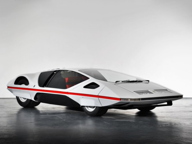 Ferrari 512S Modulo - TOP 10 STRANGEST CARS EVER CREATED