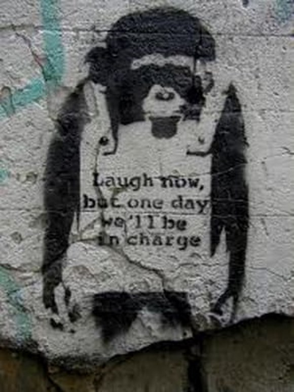 Laugh Now - TOP 10 GRAFFITI ARTWORKS BY BANKSY
