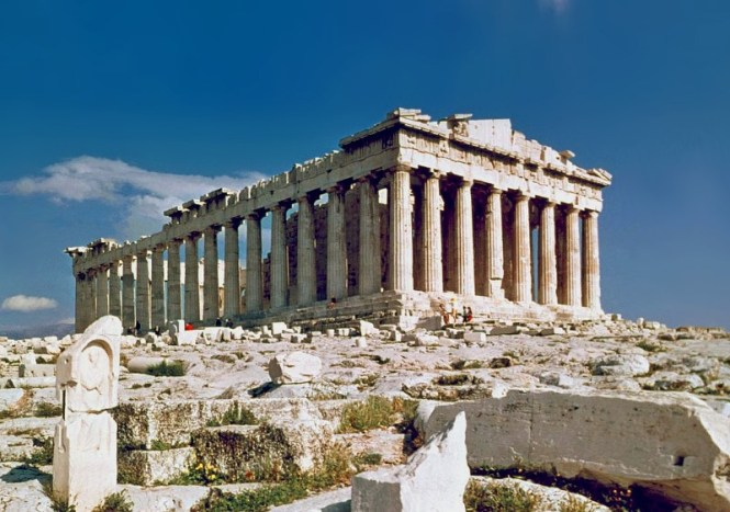 Parthenon - TOP 10 OLDEST CITIES IN EUROPE THAT STILL EXIST