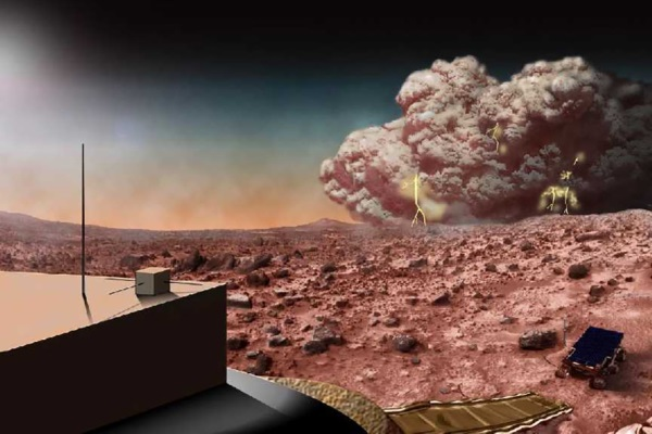 Dust Storms - TOP 10 FASCINATING FACTS ABOUT THE PLANET MARS