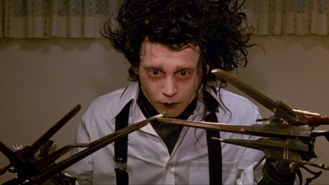 Edward Scissorhands - TOP 10 BEST JOHNNY DEPP MOVIES