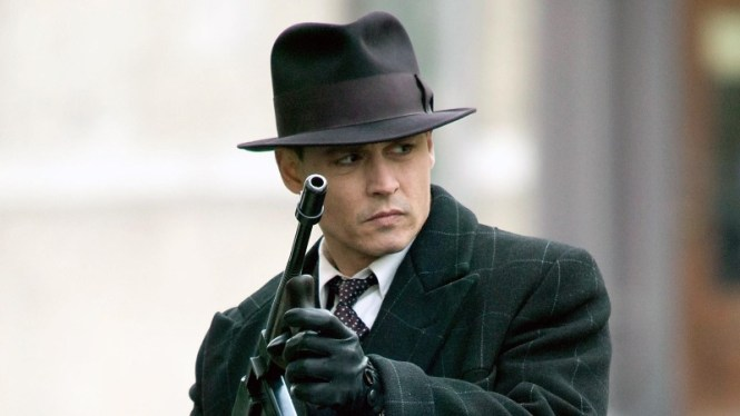 Public Enemies - TOP 10 BEST JOHNNY DEPP MOVIES