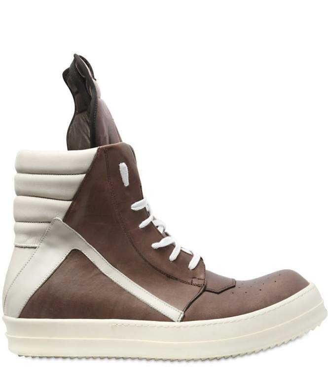 Rick Owens %E2%80%98GeoBasket%E2%80%99 - TOP 10 MOST EXPENSIVE SNEAKERS IN THE WORLD THE MOST EXPENSIVE TRAINERS EVER SOLD